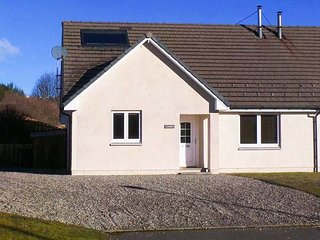 COMHLA, semi-detached, all ground floor, underfloor heating and woodburning