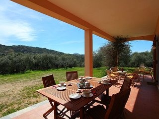 Typical sardinian house in the middle of the nature.