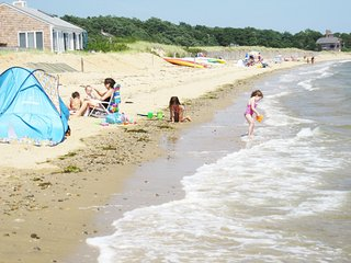Private, sandy, beach. 5 Kayaks. Wellfleet Cape Cod.