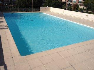 Grand 2P vue mer résidence calme avec piscine