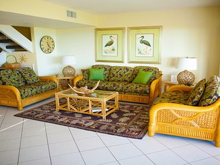 Golden Beach #3 Sand, Sunsets, Shells & Spacious.  Pet Friendly
