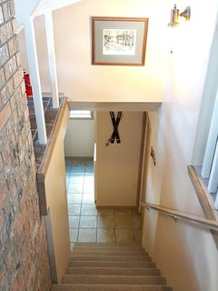 Access to Upper Floor and Laundry Room