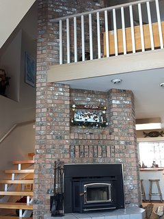 Authentic Wood Burning Fire Place