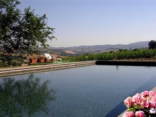 Detached villa with private pool in quiet location. 80 kms from Rome