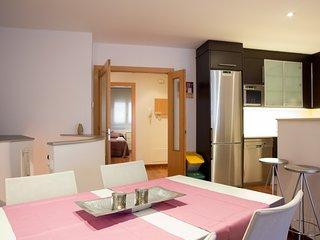 Apartamento en pueblo termal cerca de Barcelona