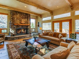 Exquisite home secluded on 35 private acres, close to Beaver Creek & Vail!