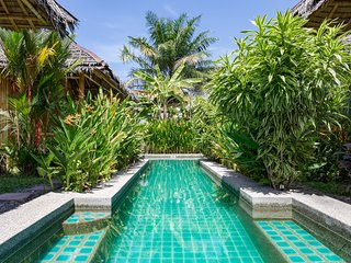 bungalow of luxe with pool spa