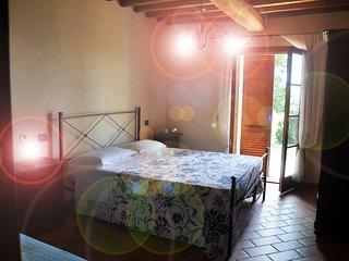 Appartmamento sulle colline pisane a 20 minuti dalla Costa degli Etruschi.