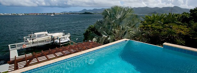 Villa Amaryllis 2 Bedroom (In A Stunning Waterfront Location On The Simpson Bay