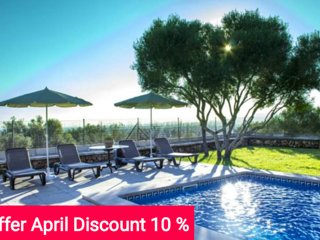 Last Minute -10% April 2017. Villa with pool in Sa Cabaneta for 12, Marratxí