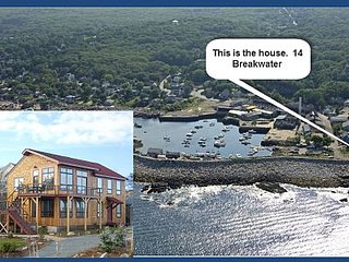 Coolest House in Rockport: Newly Renovated Home Overlooking Pigeon Cove Floor 1