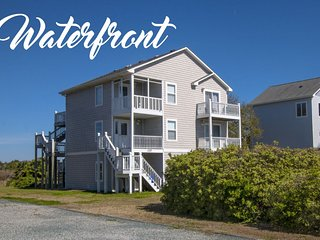 Old Village Lane 137 Sound View! | Community Pool, Tennis, Private Dock (not, North Topsail Beach