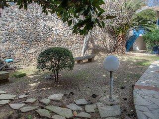 Appartement avec jardin sur le port de Marseillan ville