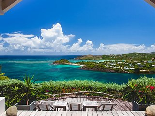St Barts Elegant Tranquil Luxury Haven with Panoramic Ocean Views, Marigot