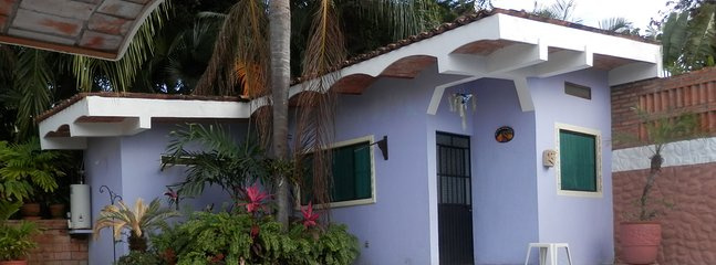 Very nice Casita, right next  to the pool and jungle garden.