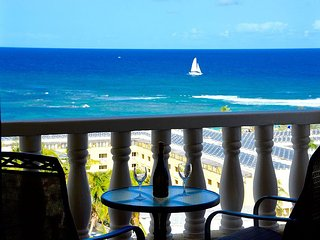 Caribbean dream, Princess Heights Hotel, Dawn Beach, Oyster Pond, St. Maarten