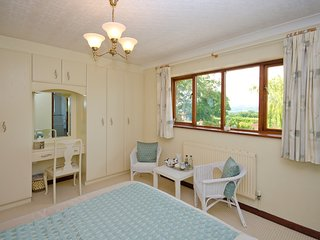 Bedroom 1 showing view across the Vale