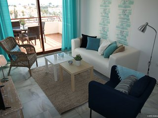 Andaluz Apartments - MDN04 - air con, Wifi, pool, parking, terrace, 2 bedrooms, Nerja