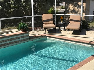 Sea N' Green, Floridian 2 bedroom house with pool, Bonita Springs