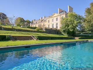 Elegant Chateau Luxury chateau Normandy France, chateau france self catering