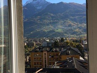 Mansarda sui tetti di Aosta