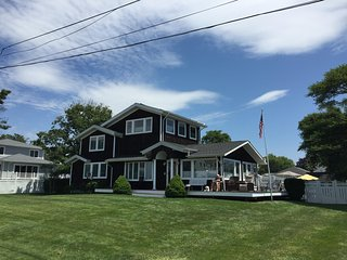 Hampton's House on the Bay. Pool, playset and plenty of room for your family!