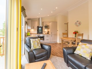 The Hedgerow at Littlemere -Bespoke Lodges - Sleep 2 - Woodburner, Lake District