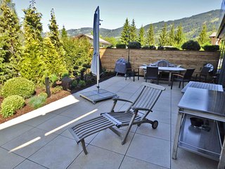 stunning views and style, Kitzlodge 3 BDR,Garden,open fire,luxury