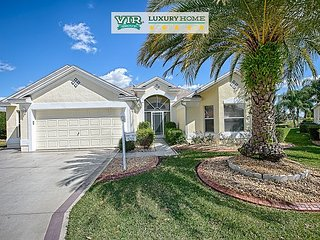 Golf Course Fronting. Golf Cart. Pool. Expanded Home. Cul-De-Sac. Sleeps 6., The Villages