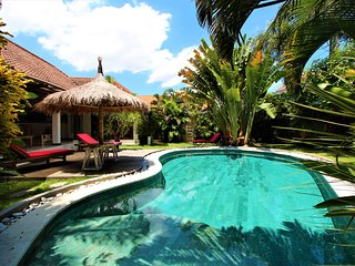Luxury and peaceful big villa, pool table, center Seminyak.