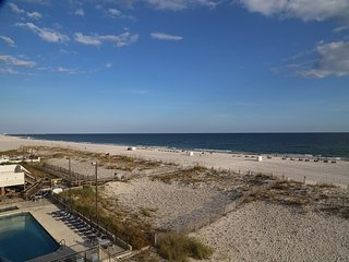Southern Sands 305 ~ Gulf Front ~ FREE Wifi, Walk to town, Right on the beach, P