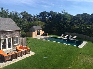 Tranquil, Secluded Oasis with New Pool; Great for Multi-Family or Large Groups, Nantucket