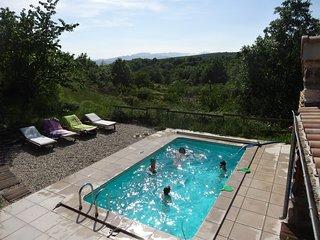 Détente en Ardèche ! Au Vallon des Etoiles: piscine privée et Spa