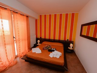Appartamento Orange in Villa con Vista Mare