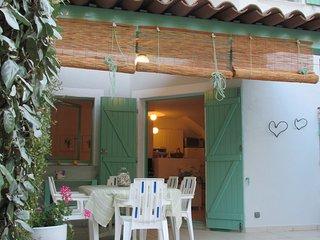mini villa 250 m.dalla spiaggia di saint cipryen