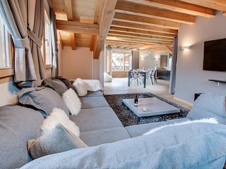 Amazing location & luxurious chalet in the beautiful Alpine village of Morzine.
