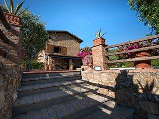 18thcent.stone farmhouse-fantastic pool & overlook