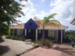 Villa  met prive zwembad en grote tuin met uizicht op zee  'VILLA BLUE LAGOON'