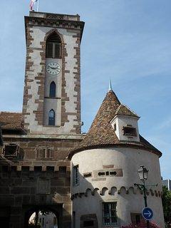 Wasselonne - la tour carrée