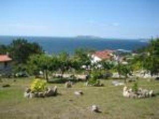 casa con vistas a las islas cies, Baiona