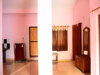2BHK Apartment Family Vacation rental on Morjim Beach, Goa Kitchen Wifi
