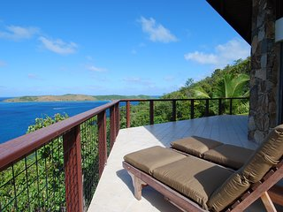 Spectacular Views & Total Tranquility awaits you at Villa Alizés, North Sound