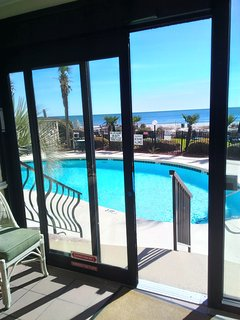 Just a few steps to beautiful pools, hot tubs, grounds and beach!!!