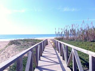 A ocho minutos andando a la Playa