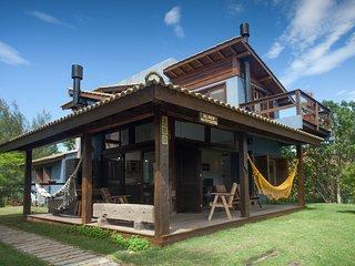 Casa coladinha no mar da Ferrugem