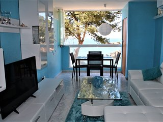 Apartment direct to the sea. Cala Es Hostalot. Santa Ponsa. Mallorca.