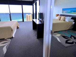 1384 - Cavill Avenue 2 Bedroom + Study Holiday Apartment