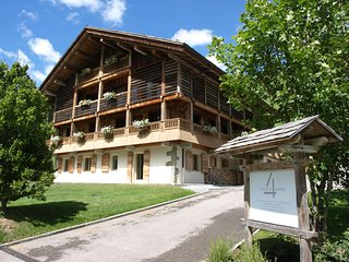Child friendly luxury ski apartment in chalet (no.1)