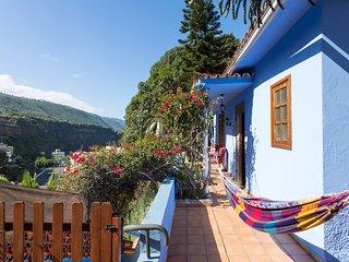 Paradise Corner Blue House & Huge Garden, Icod de los Vinos