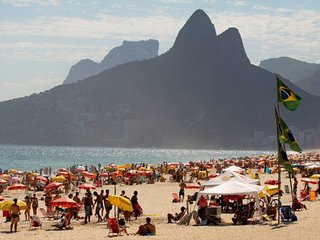 Ipanema/Best place-70m to the beach+secure region, Río de Janeiro